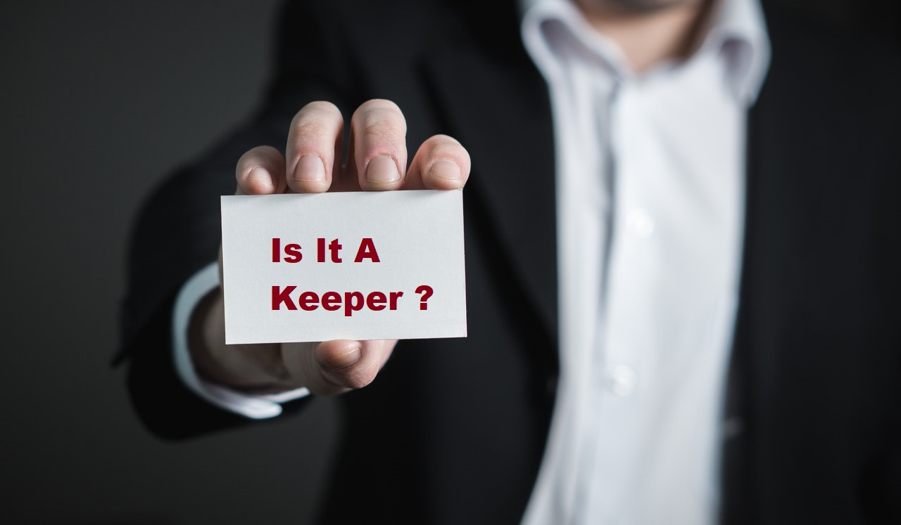 Your Business Card – is it a Keeper?